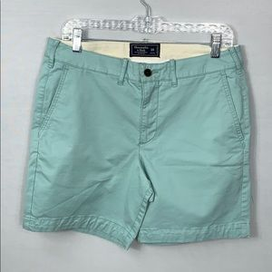 New Abercrombie & Fitch Stretch Chino Shorts 30